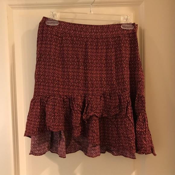 Free People Dresses & Skirts - FREE PEOPLE Flare Ruffle Skirt!
